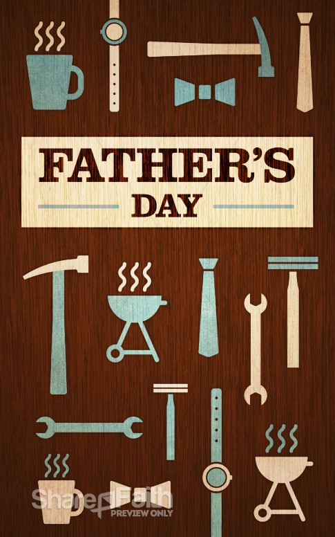 Father S Day Tools And Gear Church Bulletin Fathers Day