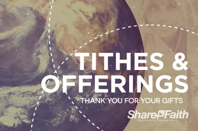 Preach the Gospel Tithes and Offerings Motion Loop