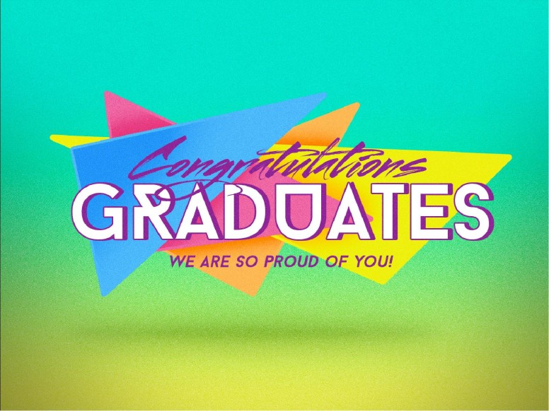 Congratulations Graduation Sunday PowerPoint