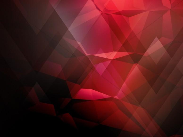 Red Geometric Worship Background