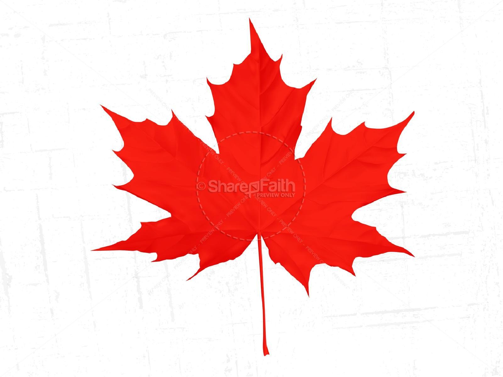 Happy Canada Day Church PowerPoint