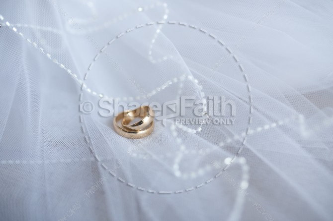 Wedding Bands Religious Stock Photo