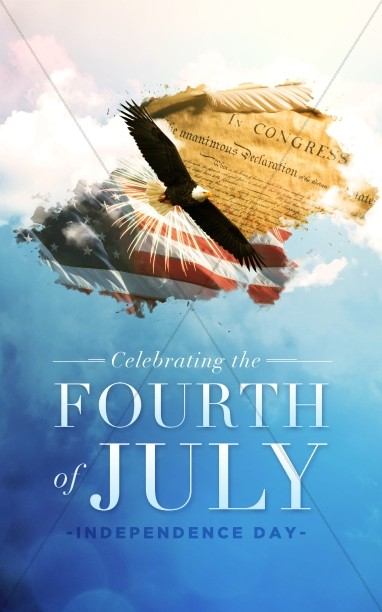 American Independence Day Church Bulletin