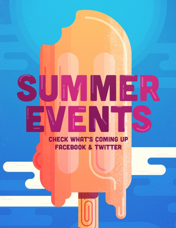 Church Summer Events Flyer