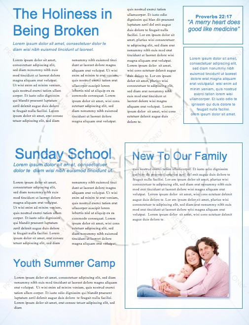 Church Summer Events Newsletter