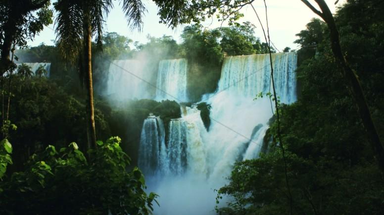 Jungle Waterfall Christian Stock Photo