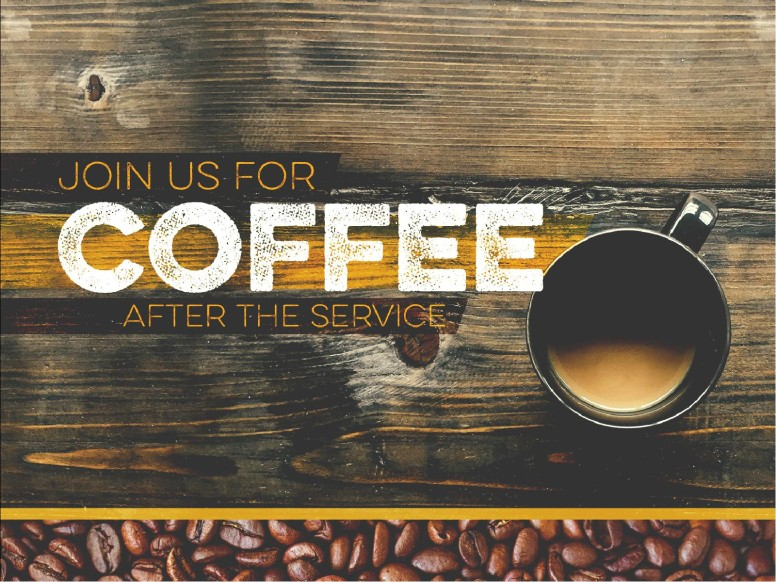 Coffee Shop Ministry PowerPoint