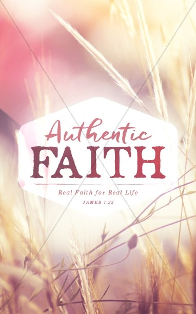 Authentic Faith Church Bulletin