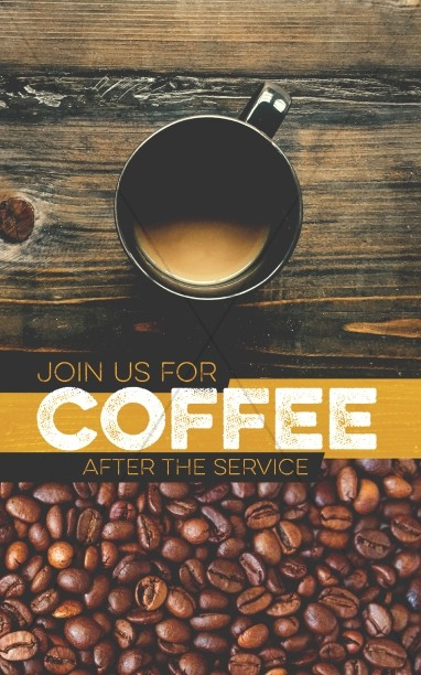 Coffee Shop Ministry Bulletin