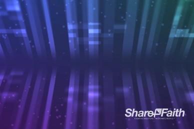Abstract Digital Lines Worship Video Loop