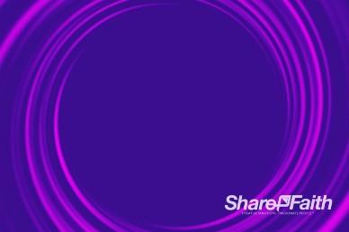 Swirling Purple Vortex Worship Video Background