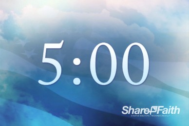 American Independence Day Church Countdown Timer Video