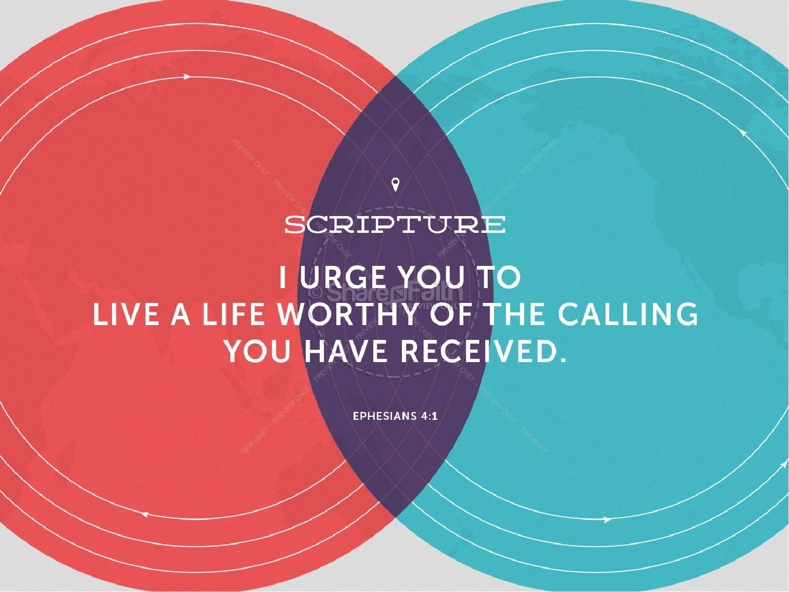 Finding Your Calling Church PowerPoint
