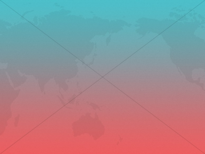 World Map Gradient Church Worship Background