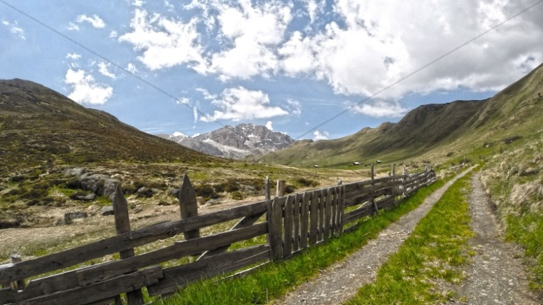 Mountain Road Christian Stock Photo