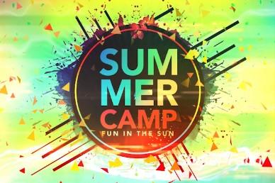 Summer Camp Fun in the Sun Intro Video Loop