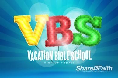 VBS Registration Video Loop