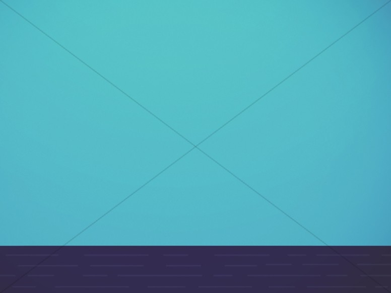 Minimalist Flat Blue Church Worship Background