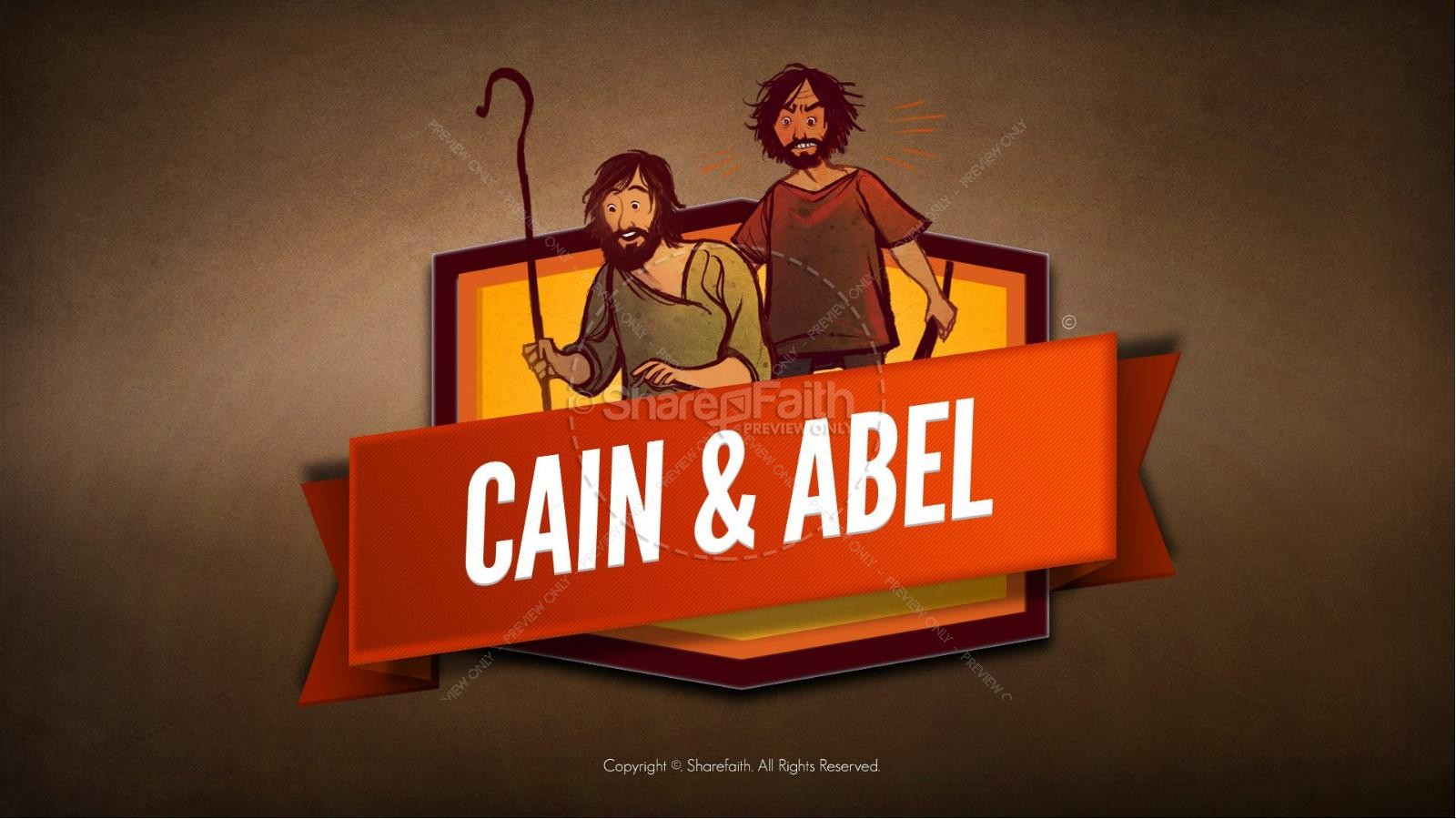 Bible study on cain and abel