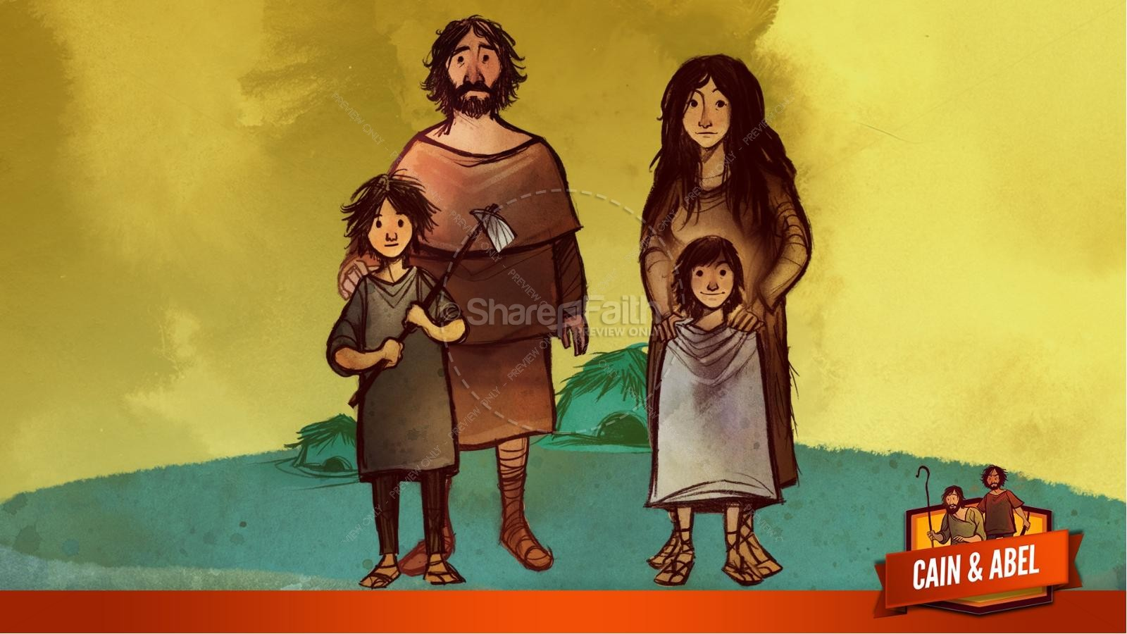 Cain And Able Kids Bible Lesson | slide 14