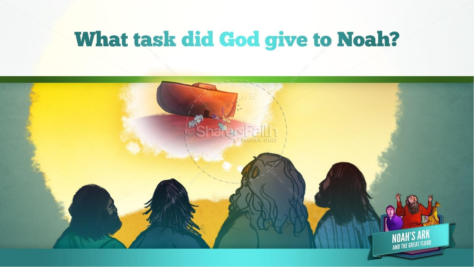 Noah's Ark Kids Bible Lesson
