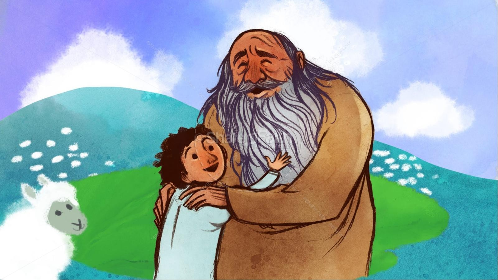 Abraham and Isaac Kids Bible Story | slide 5