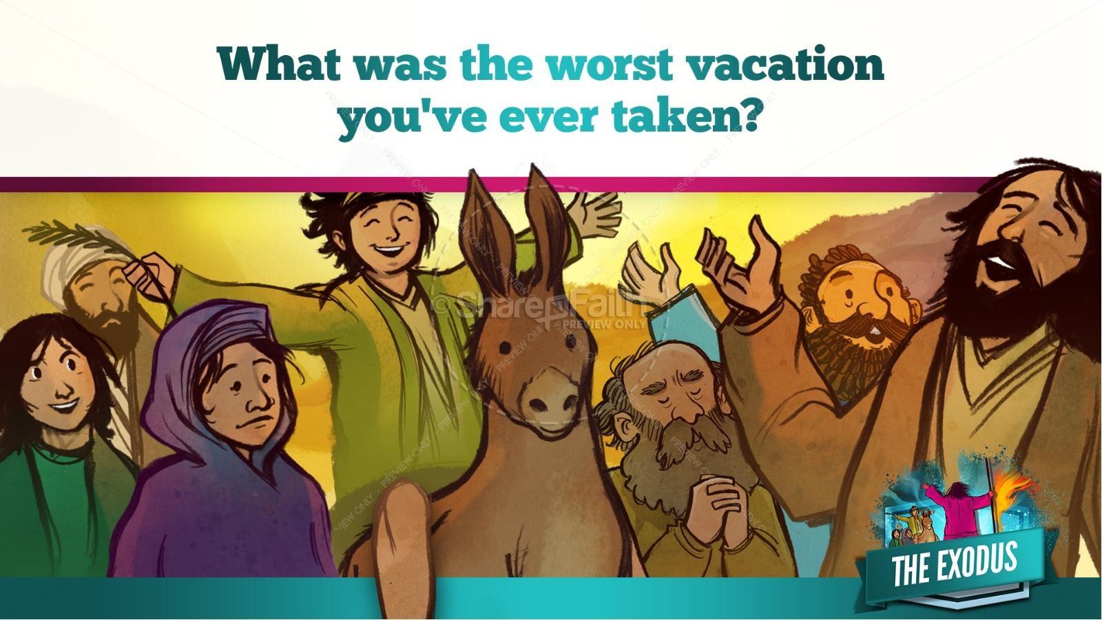 The Exodus Story Kids Bible Lesson | slide 14