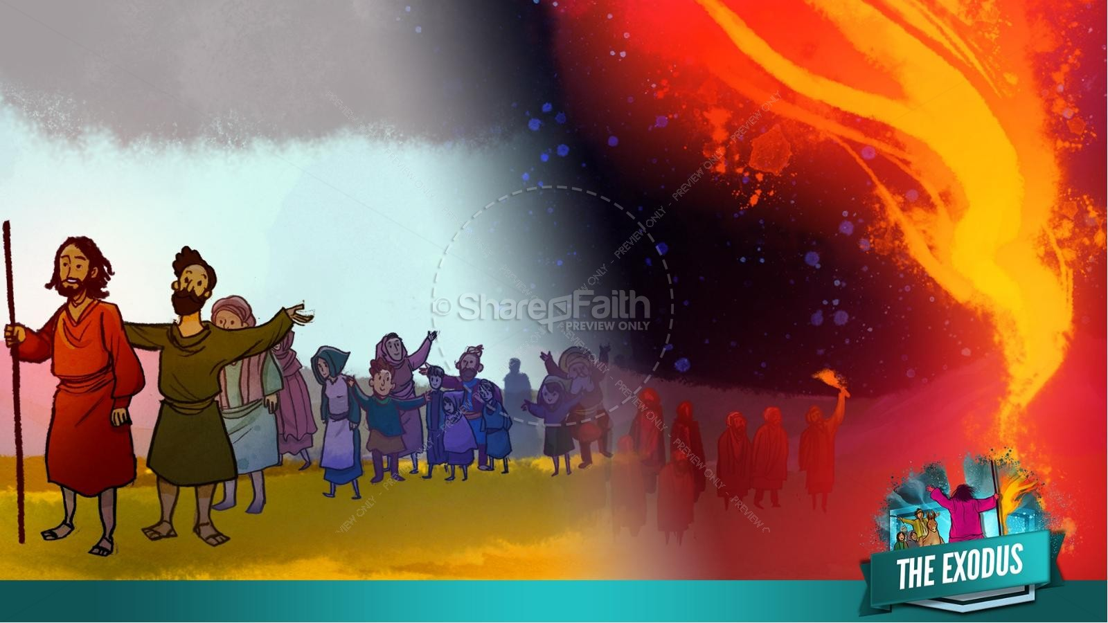 The Exodus Story Kids Bible Lesson | slide 15