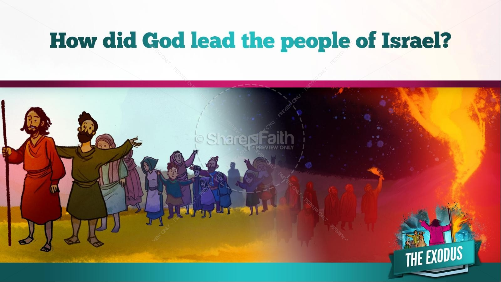 The Exodus Story Kids Bible Lesson | slide 16