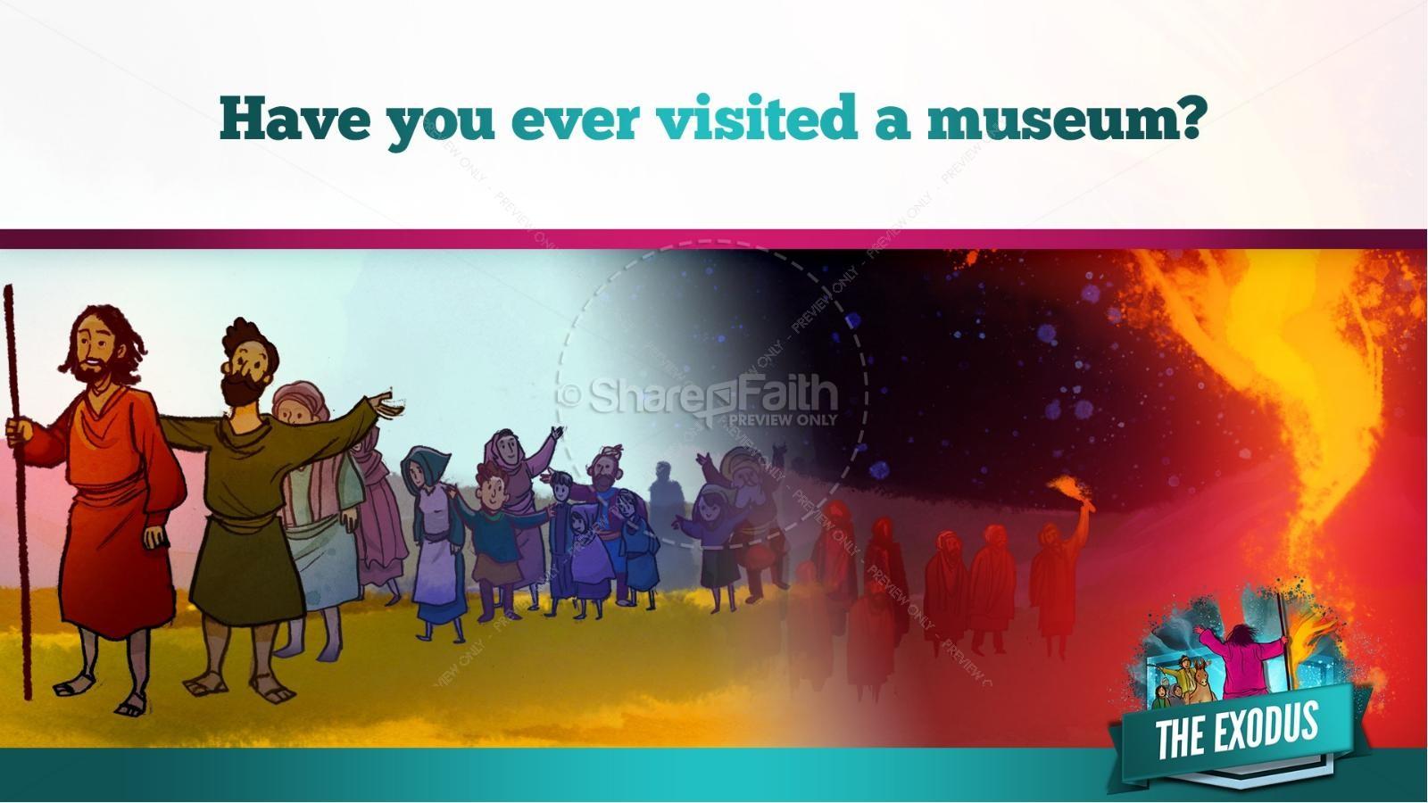 The Exodus Story Kids Bible Lesson | slide 18