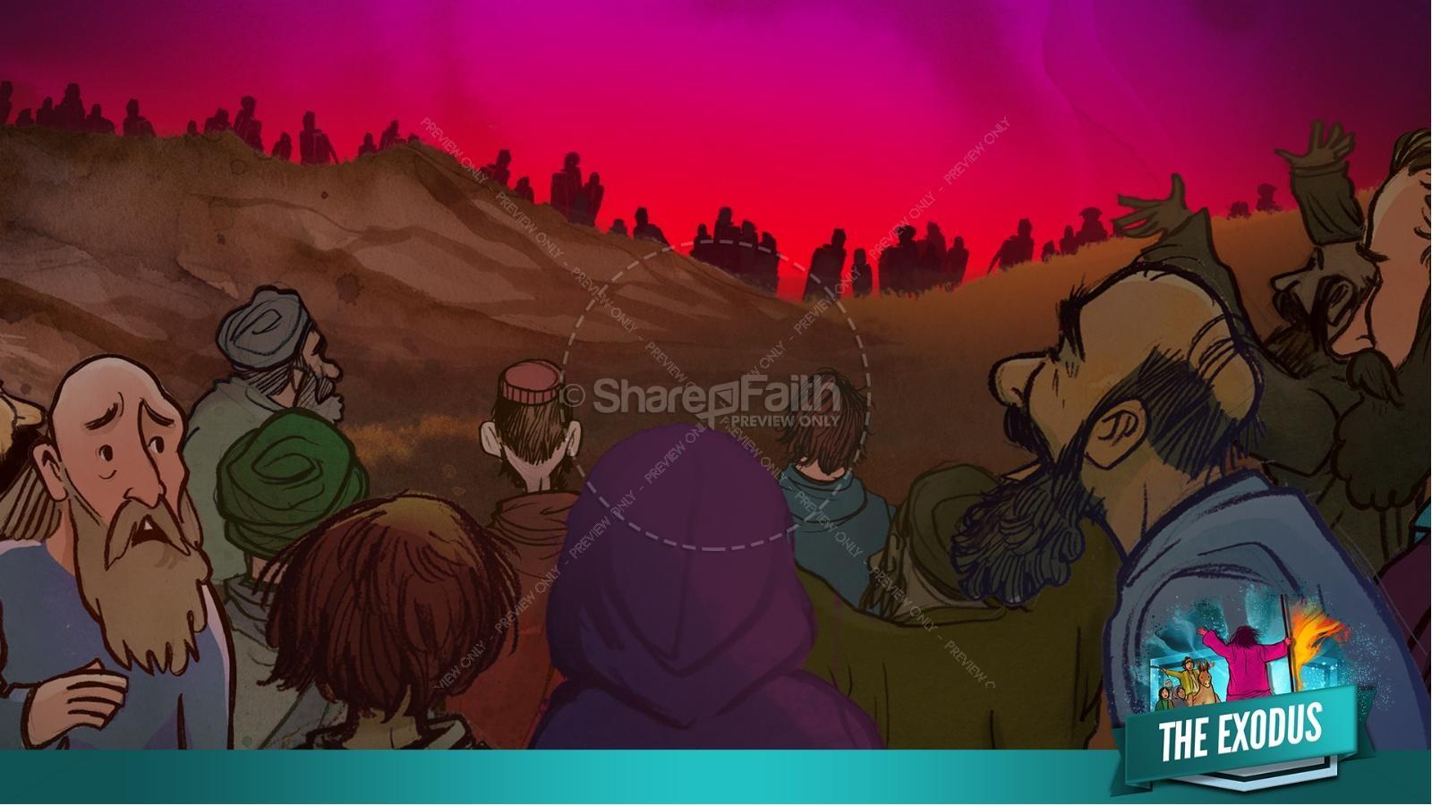 The Exodus Story Kids Bible Lesson | slide 19