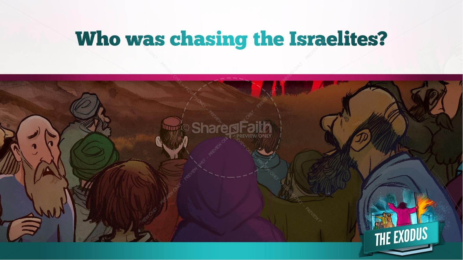 The Exodus Story Kids Bible Lesson | slide 20