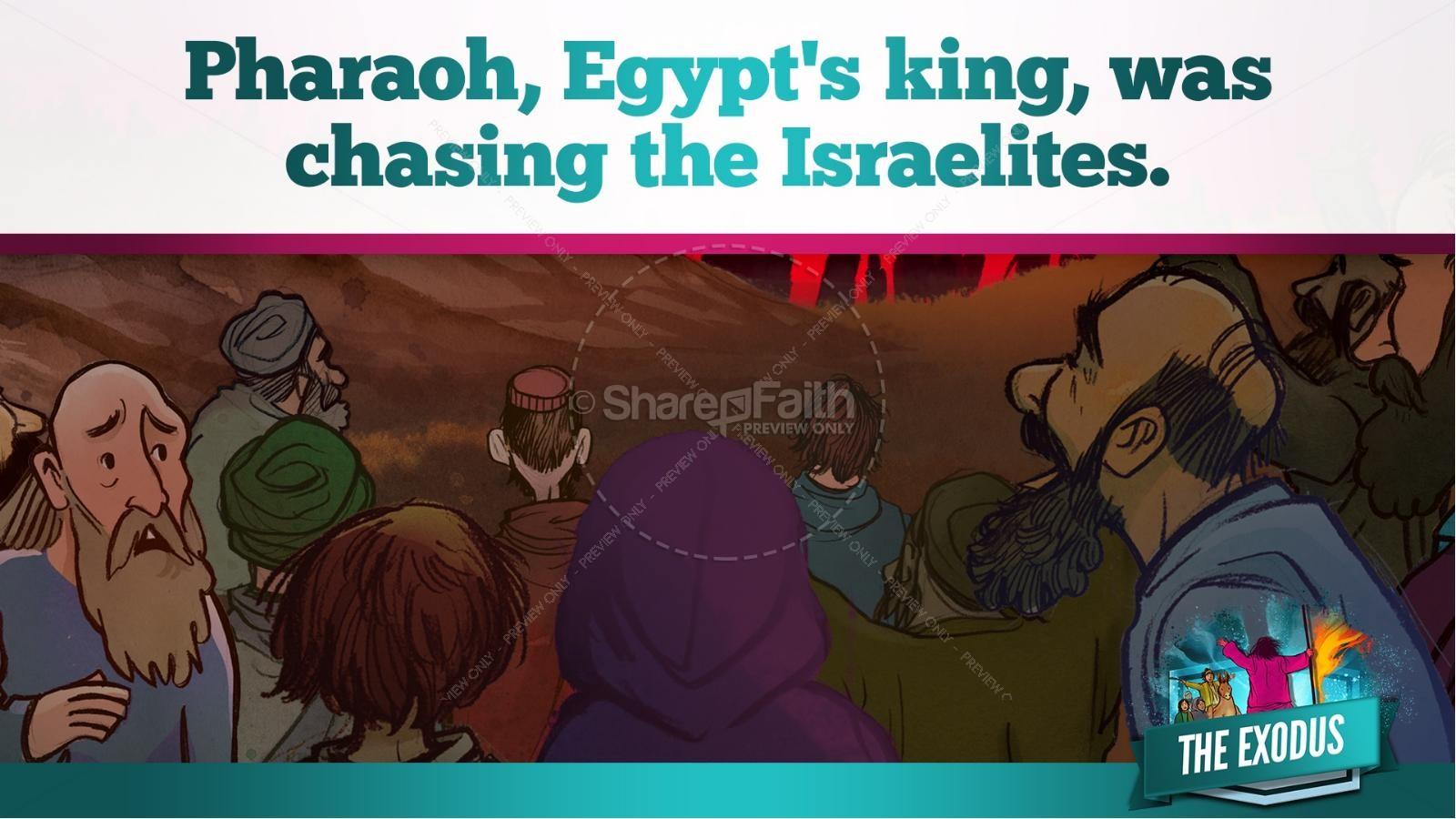 The Exodus Story Kids Bible Lesson   slide 21