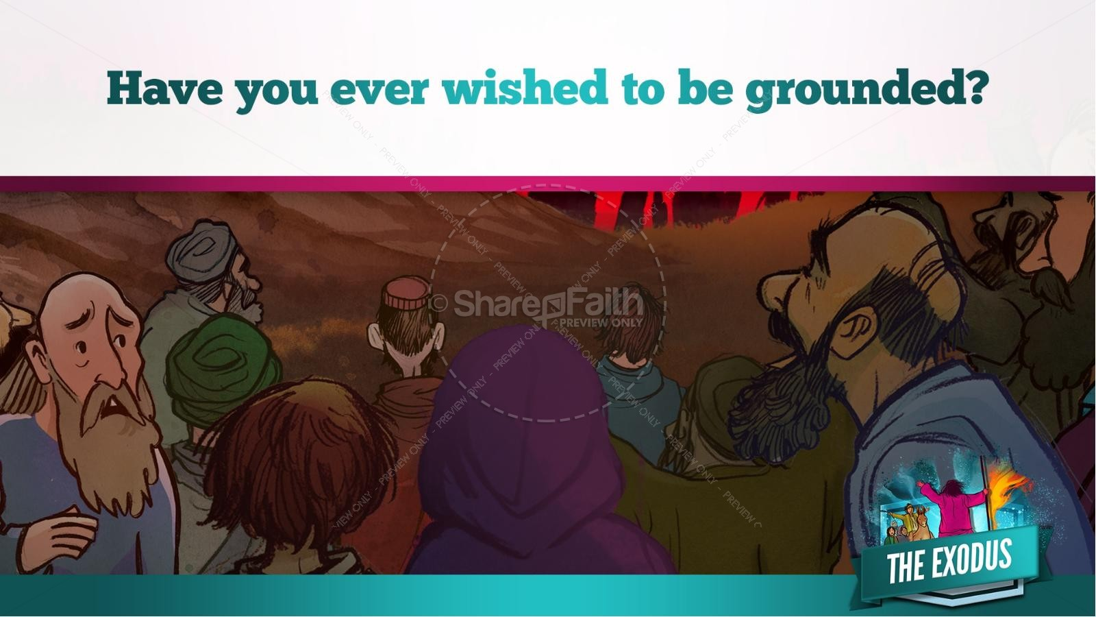 The Exodus Story Kids Bible Lesson | slide 22