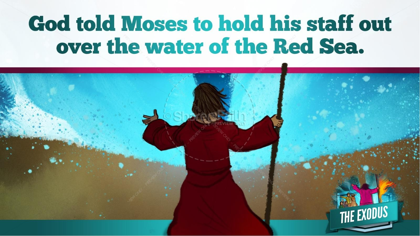 The Exodus Story Kids Bible Lesson | slide 25