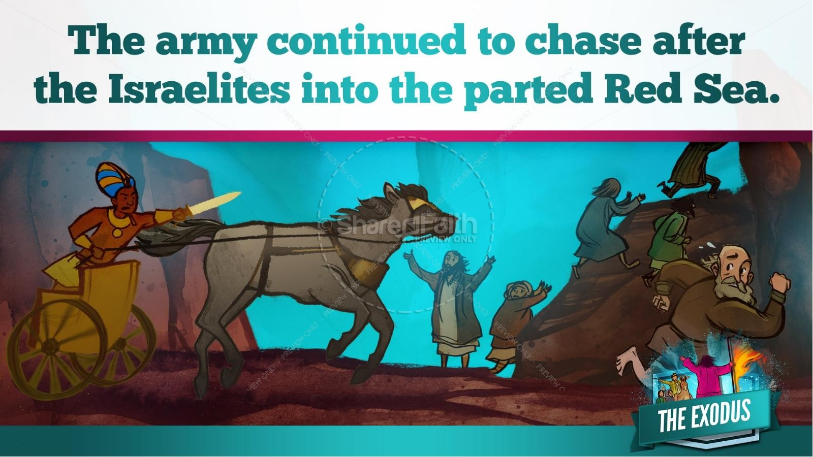 The Exodus Story Kids Bible Lesson | slide 29