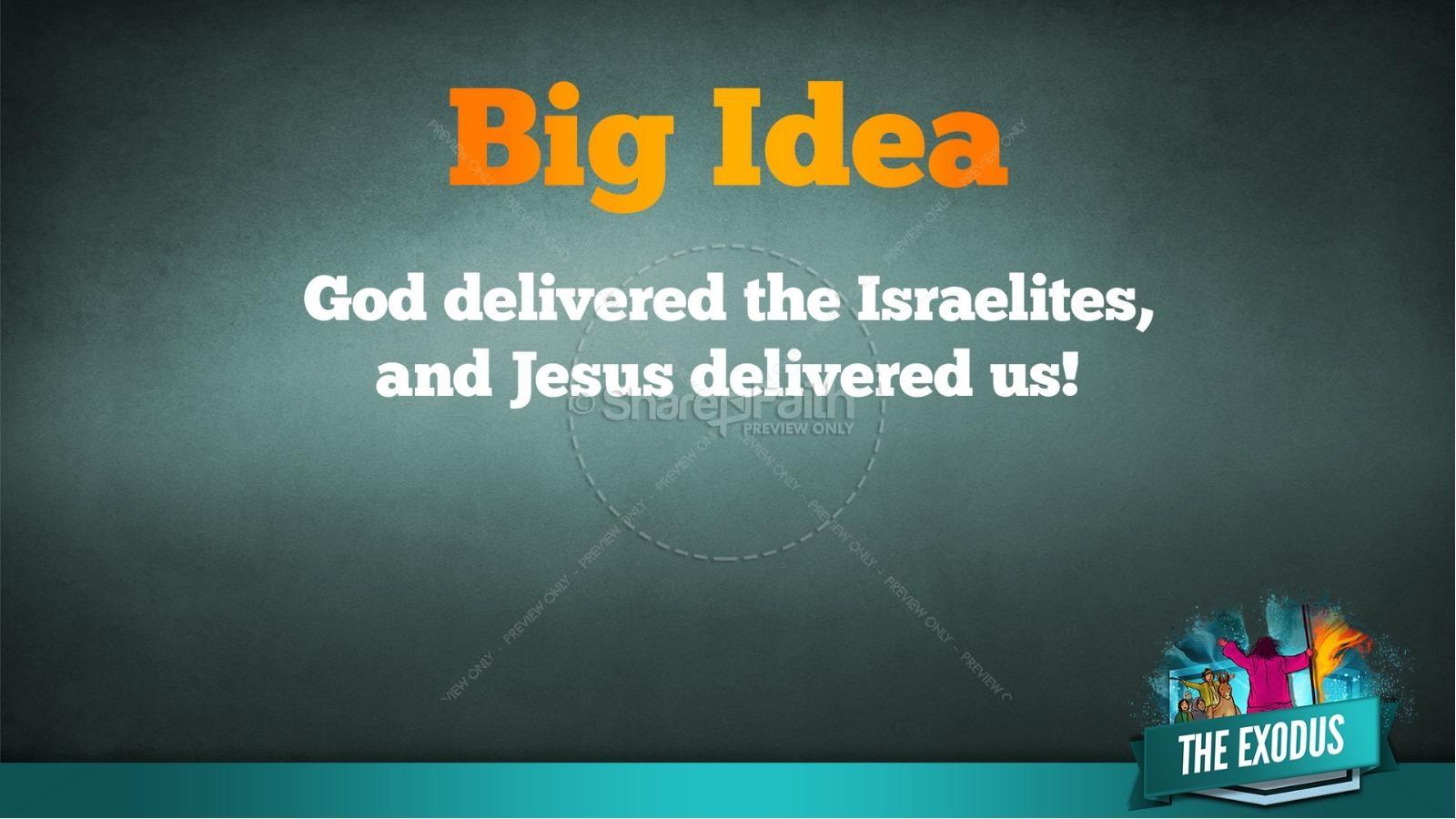 The Exodus Story Kids Bible Lesson | slide 35