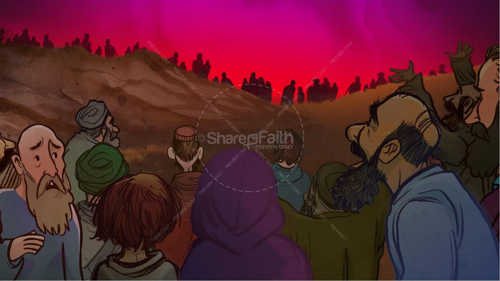 The Exodus Story Kids Bible Lesson | slide 5