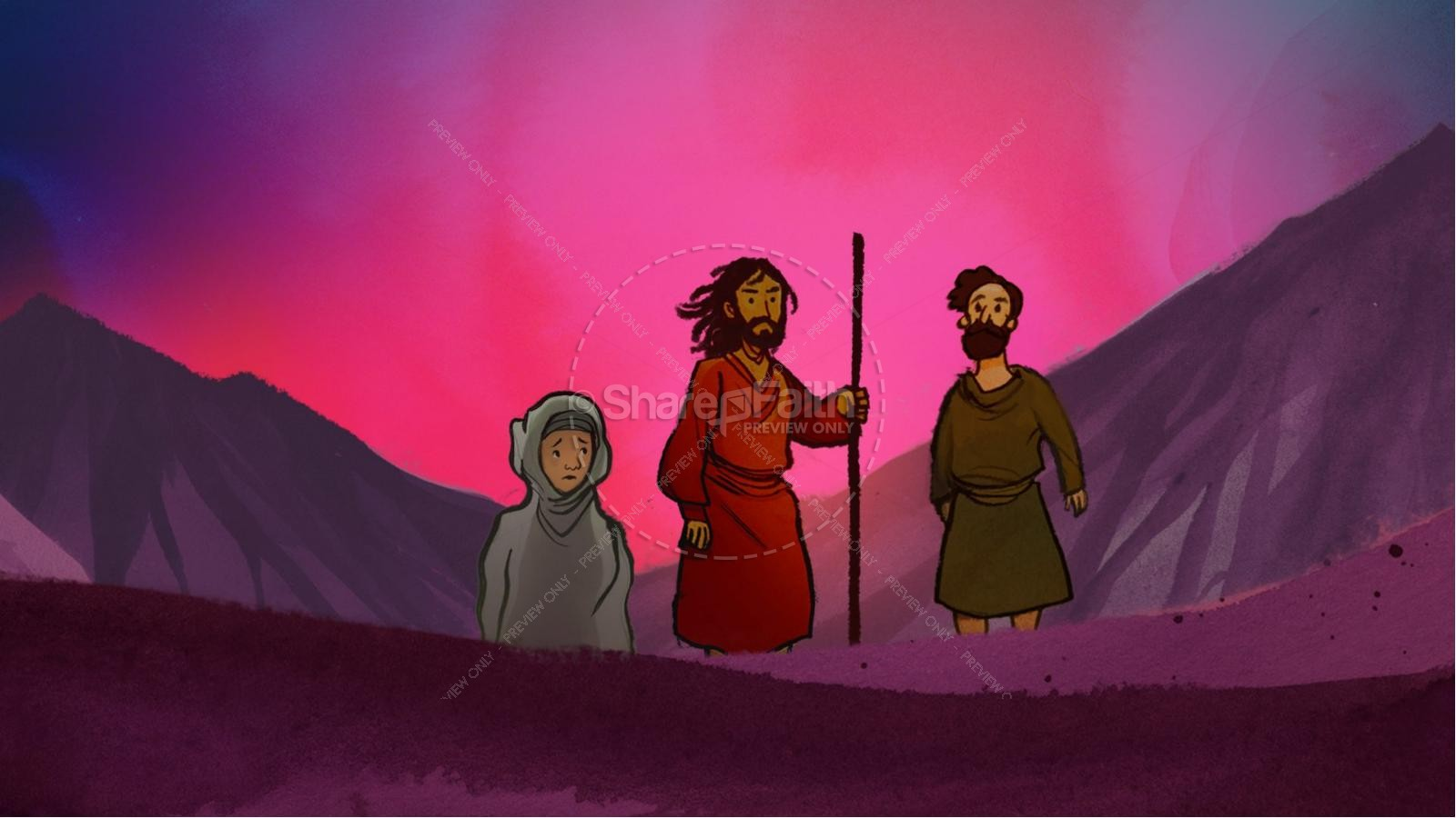 The Exodus Story Kids Bible Lesson | slide 6