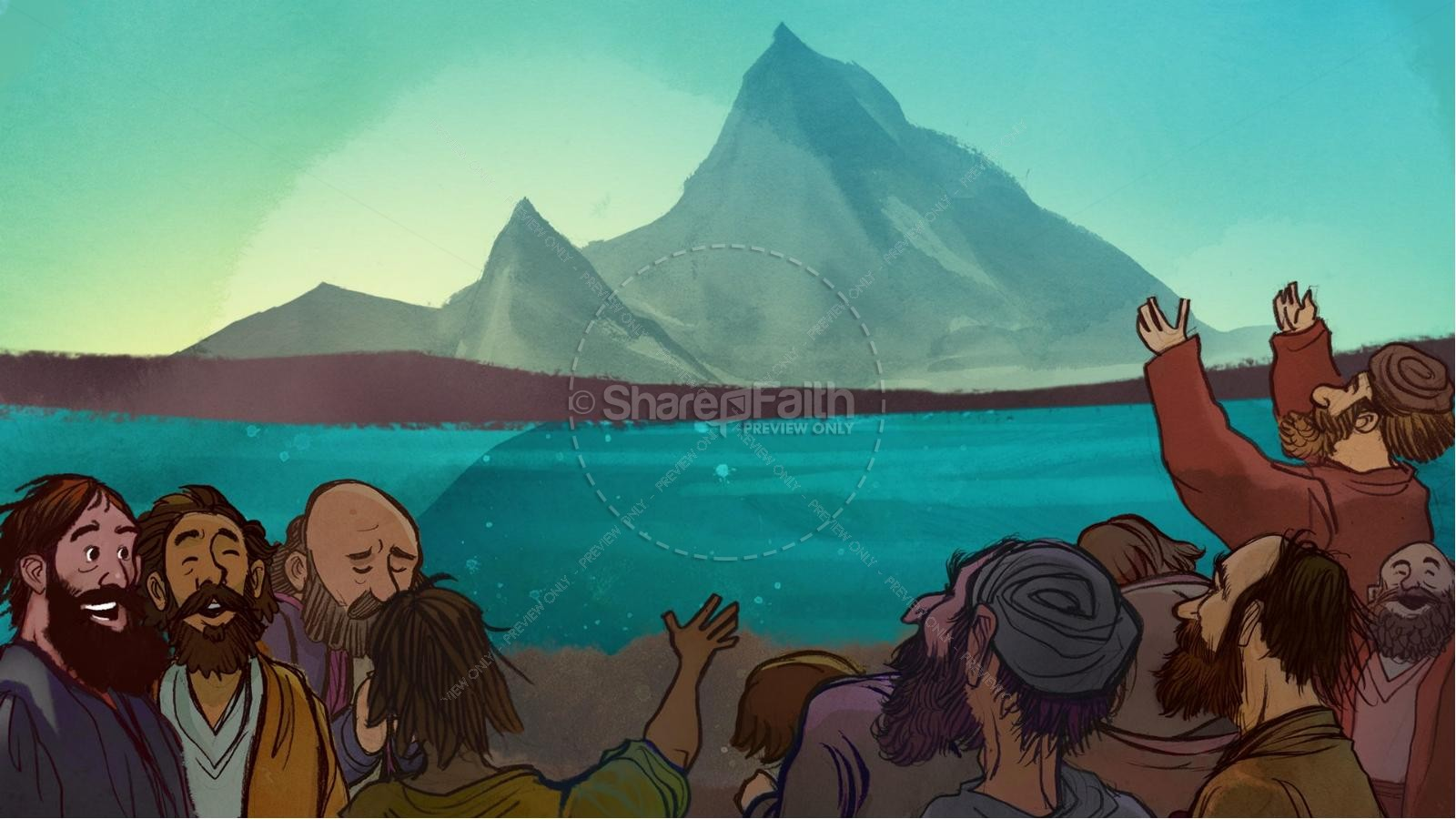 The Exodus Story Kids Bible Lesson | slide 9