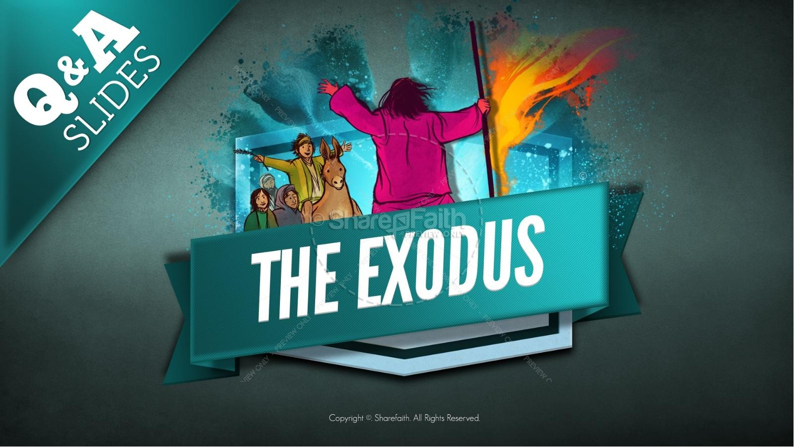 The Exodus Story Kids Bible Lesson | slide 10