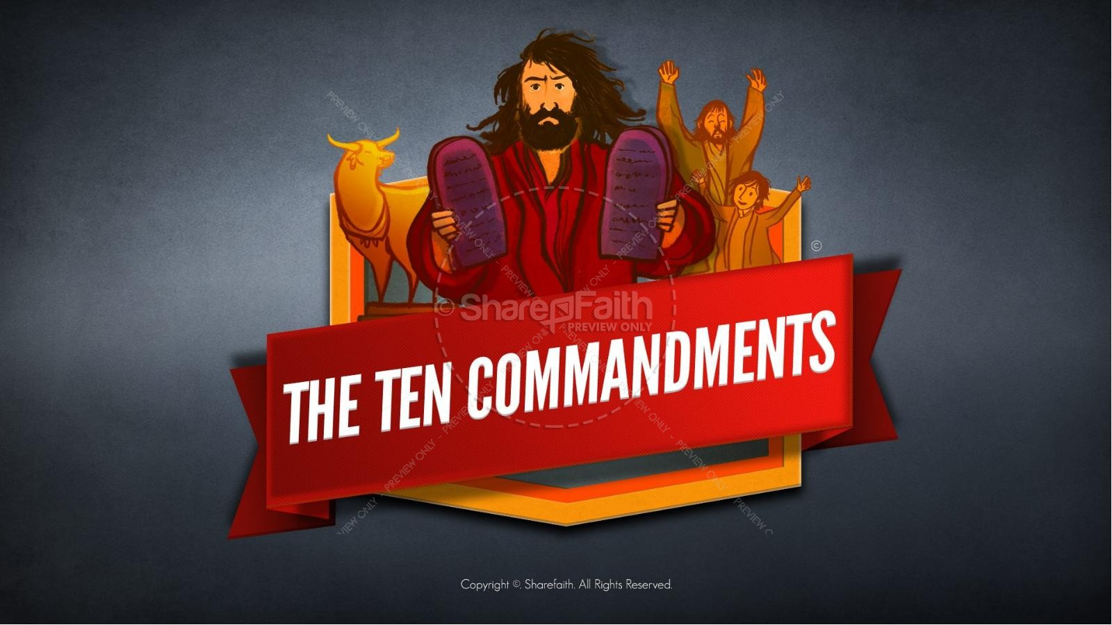 The Ten Commandments Kids Bible Stories | Kids Bible Stories