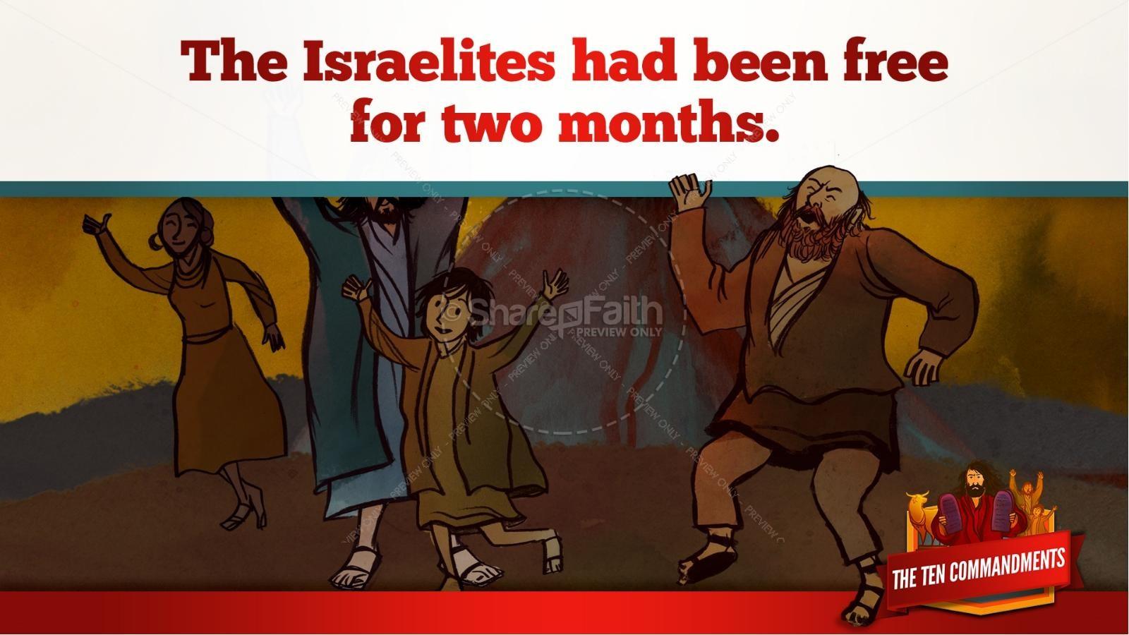 The Ten Commandments Kids Bible Stories