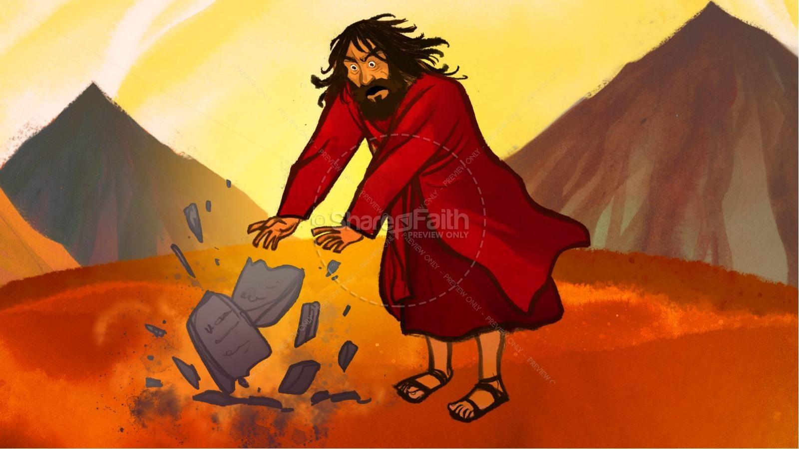 The Ten Commandments Kids Bible Stories | slide 7