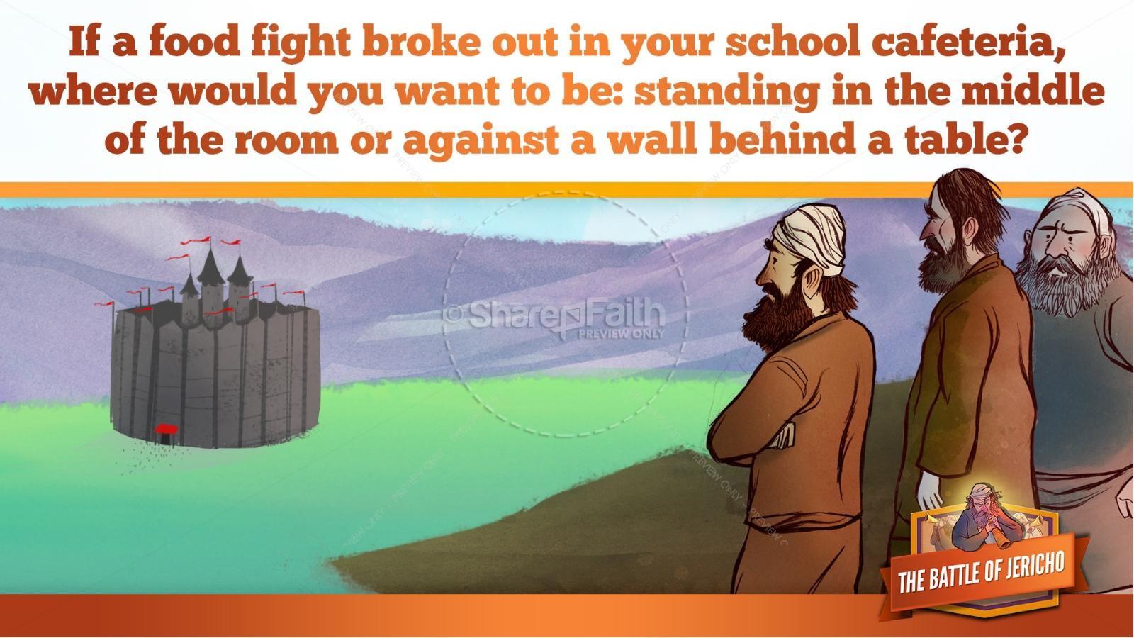 Walls of Jericho Kids Bible Story