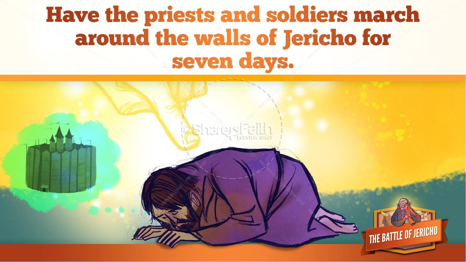 Walls of Jericho Kids Bible Story