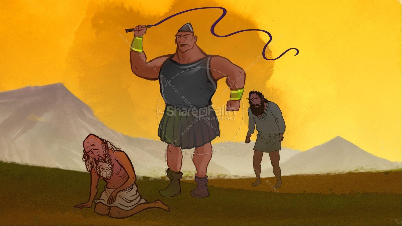 Samson and Delilah Kids Bible Stories | slide 2