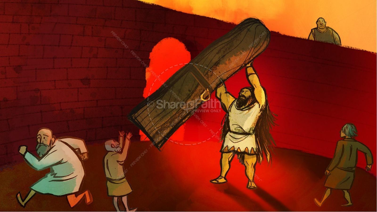 Samson and Delilah Kids Bible Stories | slide 13