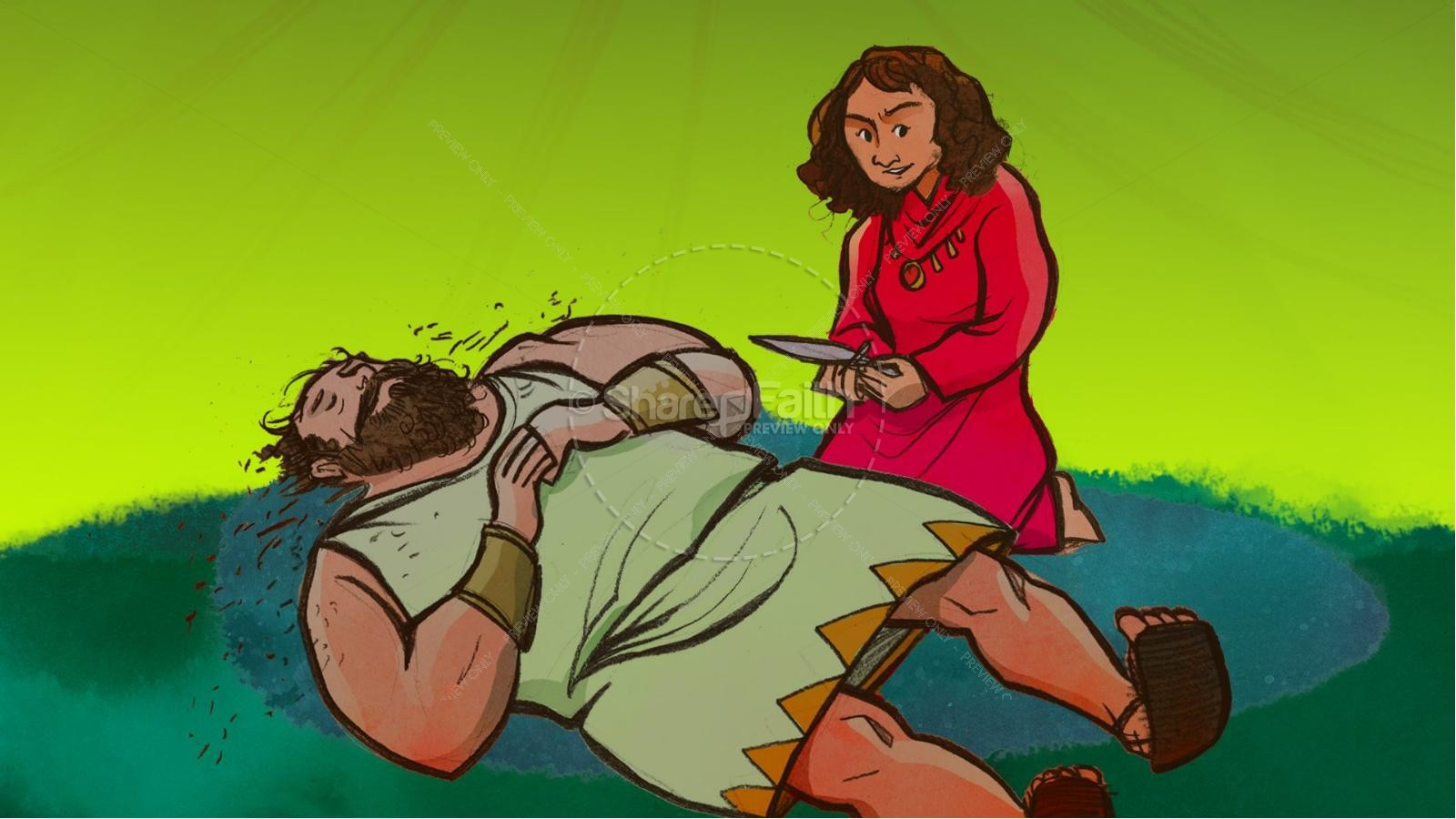 Samson and Delilah Kids Bible Stories | slide 14