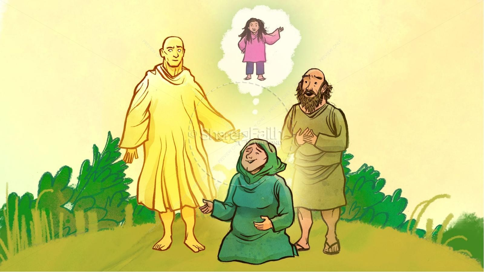 Samson and Delilah Kids Bible Stories | slide 4